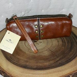 Patricia Nash Leather Multipurpose Bag Wristlet